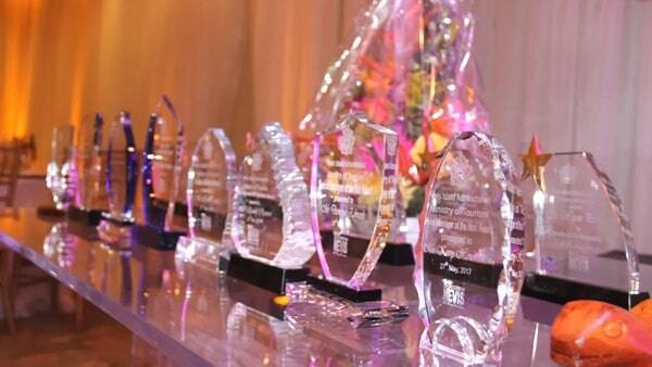 Nevis Tourism Awards Trophies