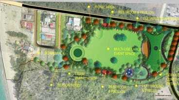 Pinney's Recreational Park Concept Drawing