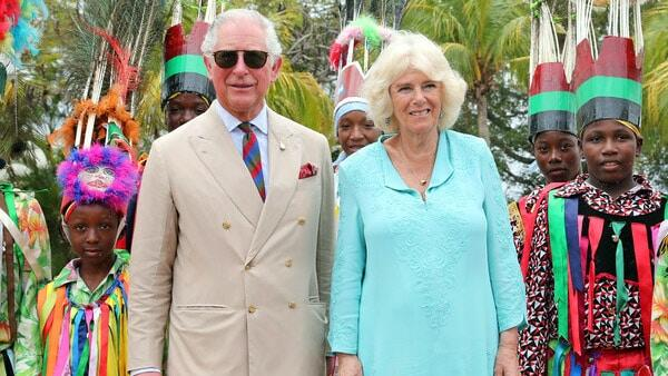 Prince Charles - Duchess of Cornwall In Nevis