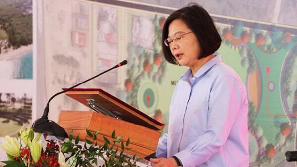 Taiwan President - Dr. Tsai Ing-wen