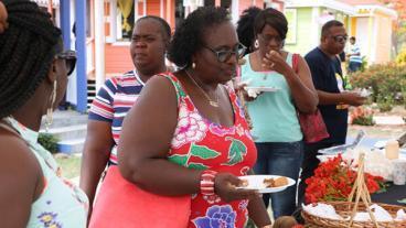 Nevis Restaurant Week Patrons