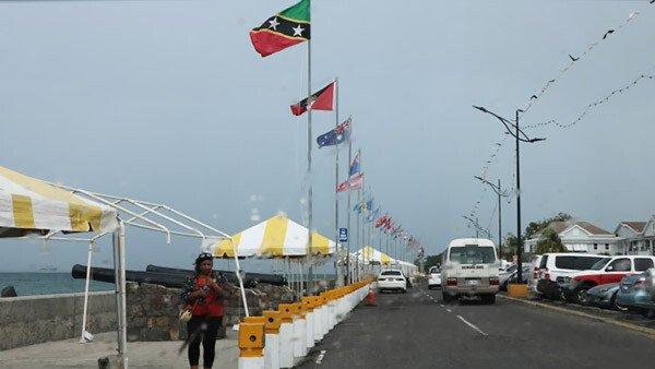 Small Business Boardwalk Nevis