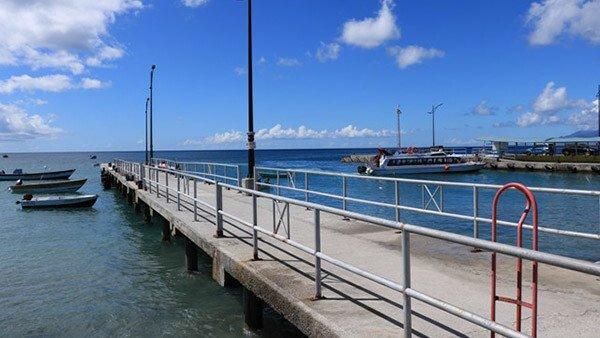 Charlestown Pier - Nevis Island
