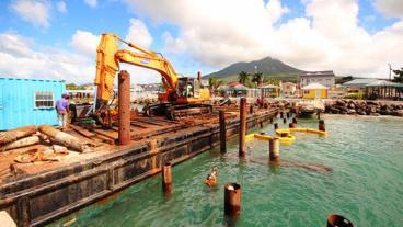 Charlestown Pier Refurbishment Work Continues
