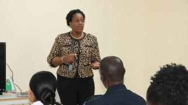Dr. Judy Nisbett - Nevis Health Ministry