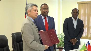 Taiwan To Aid Small Business On Nevis
