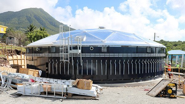Nevis Expands Water Storage Solutions