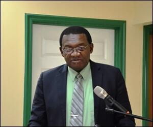 Ag Minister - Eugene Hamilton