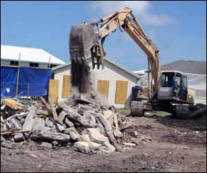 Preparing Construction Site For Upgrade