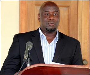 Alexis Jeffers - Nevis Ag Minister