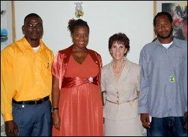 Cuban Ambassador Gonzales With Graduates
