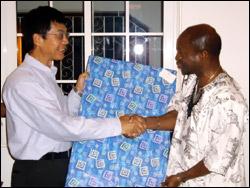 Ambassador Liu & Prime Minister Douglas