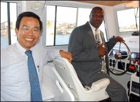 Ambassador Wu and Cedric Liburd On Opportunity