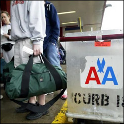 American Airlines Bag Checkin