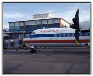American Eagle - Nevis Airport - October 2007