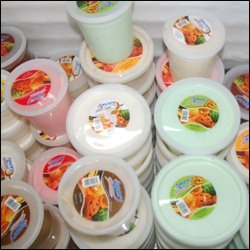 Amory Ice Cream Products On Display