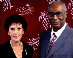 Cuban Ambassador - Ana Maria Gonzalez Suarez With Premier Parry