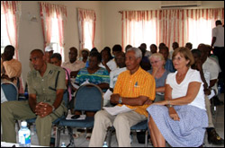 Participants Discuss Nevis Animal Control Issues