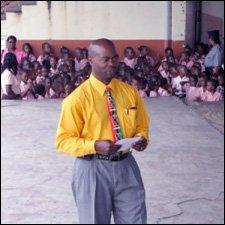 President of the St. Kitts Teachers Association Mr. Anthony Wilshire