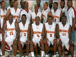 Antigua Warriors Basketball Team