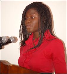 Youth Parliamentarian - Ms. Arian Hull