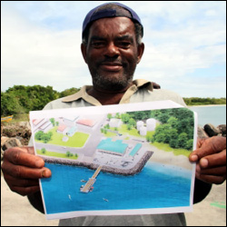 An Artist's Rendetion of The Fisheries Complex