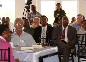 Audience At Nevis Economic Consultation 2009