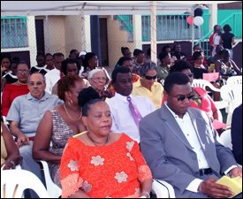 Audience At Renamed Nevis Netball Complex