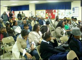 Audience For Premier Parry's New York Visit