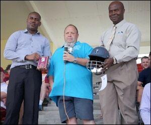 Cricket Gear Donation