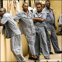 Young Black Male Prisoners