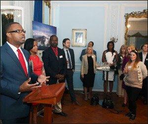 Mark Brantley Touts Nevis Tourism