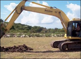 Breaking Ground On New Nevis Health Centre