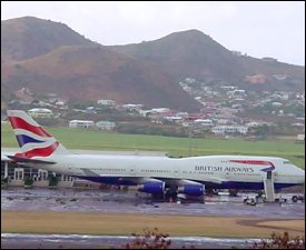 St. Kitts – Nevis Receives More Flights In 2nd Quarter