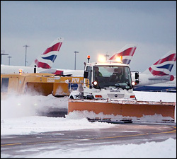 British Airways Flights Grounded Due To Snow