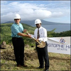 Groundbreaking Ceremony of Christophe Harbour