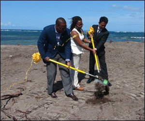 Candy Resort Nevis Ground-Breaking