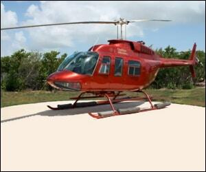 Caribbean Helicopter Charter Flights