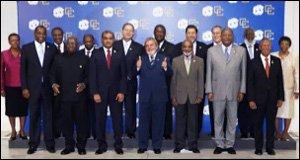 Caribbean Leaders At Brazil Summit