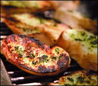 Carribean Style Grilled Bread Recipe