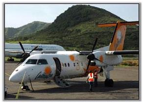 Caribbean Sun Flight At Saint Kitts Airport