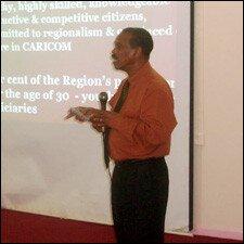 Dr. Edward Greene From CARICOM