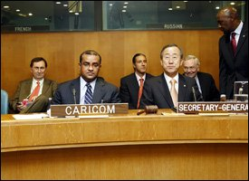 CARICOM Members At The United Nations