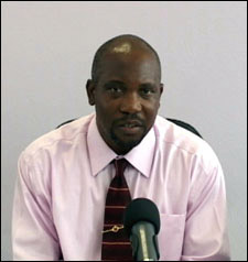 Nevis Natural Resources Minister - Carlisle Powell