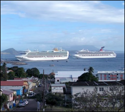 Carnival Victory Docking at Port Zante