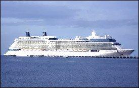 Celebrity Cruise Ship Solstice At Port Zante