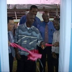 Cutting The Ribbon At The Challengers Upgrade