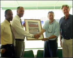 St. Kitts - Nevis Honors Charles Wilkin