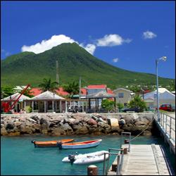 Charlestown, Nevis - Waterfornt Walk and Pier