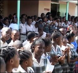 Charlestown, Nevis Primary School Students